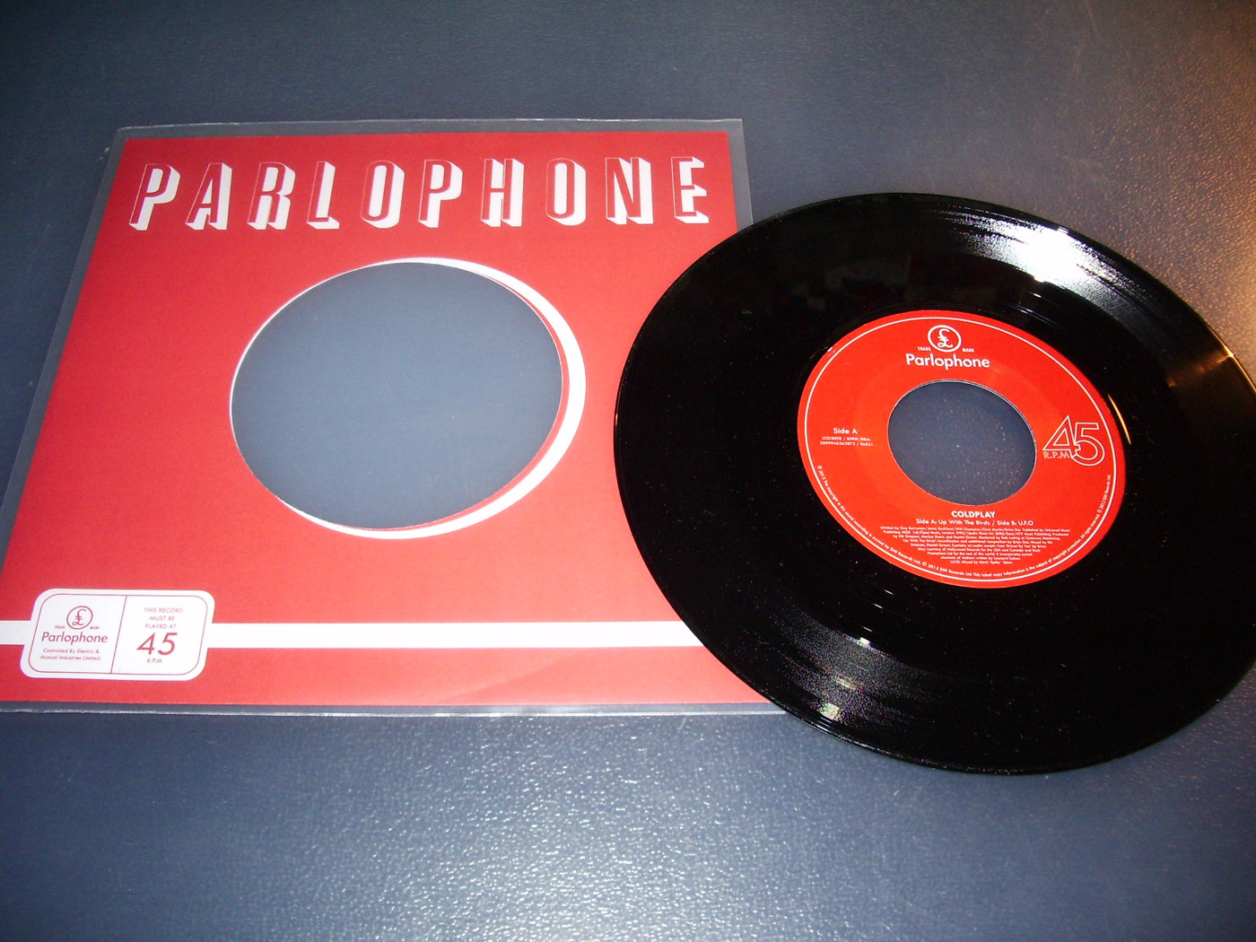Music Company Record Sleeve Replica Of Original Used Early Parlophone Label
